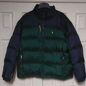 Its a XXL men's Polo jacket.
